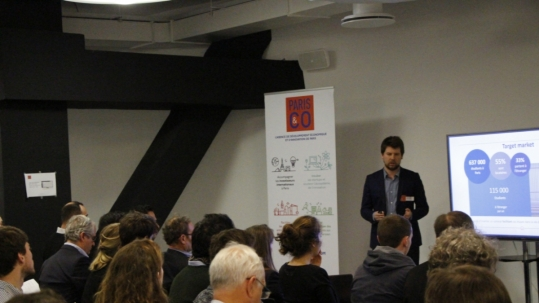 Smartrenting au PitchDay Paris&Co - Avril 2017